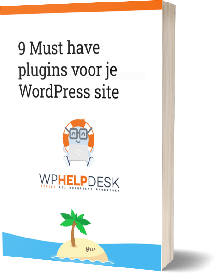 afbeelding van e-book cover, 9 must have plugins voor je WordPress site